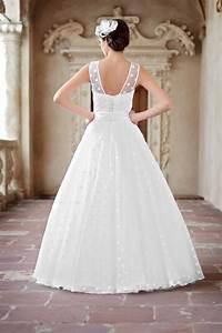 Brautkleid Mit Farbe : brautkleid mit punkten kleiderfreuden ~ Frokenaadalensverden.com Haus und Dekorationen