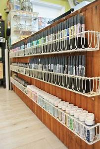 25 best ideas about craft paint storage on pinterest With best brand of paint for kitchen cabinets with candle plate holders