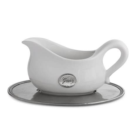 Gravy Boat Home Bargains by Tuscan Gravy Boat With Tray Arte Italica