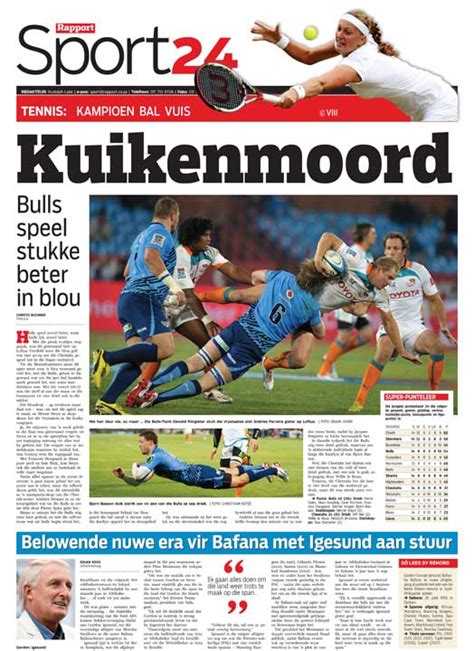 A Sport and News photo blog: Bulls vs Cheetahs