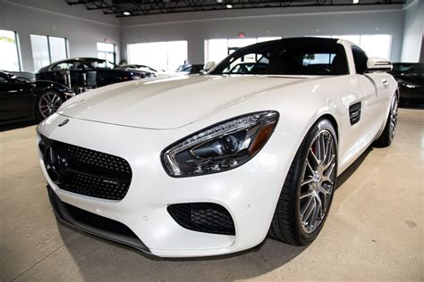 Iseecars.com analyzes prices of 10 million used cars daily. Used 2016 Mercedes-Benz AMG GT S S For Sale ($96,900) | Marino Performance Motors Stock #008784