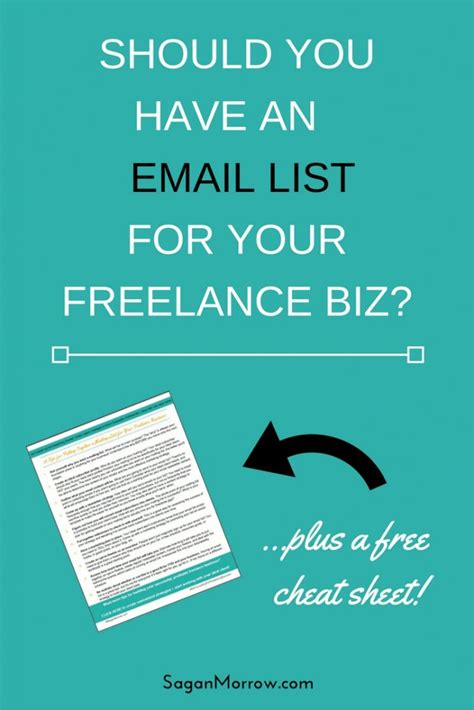 should you a mailing list for your freelance business