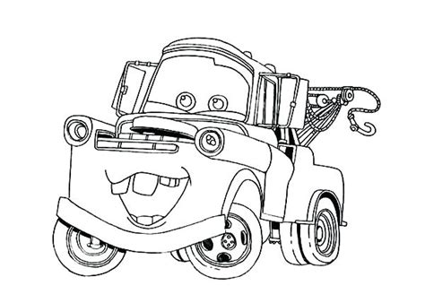 Lightning Mcqueen And Mater Coloring Pages To Print Coloring Lightning Mcqueen And Mater Coloring Pages