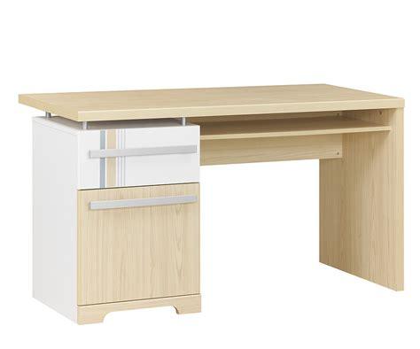 bureau enfant bora blanc et bois