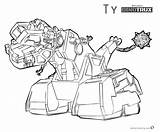 Dinotrux Coloring Pages Ty Printable Lineart Rux Template sketch template