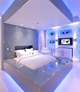 Moderne Betten Mit Led : au ergew hnliche betten mit licht neuesten design kollektionen f r die familien ~ Bigdaddyawards.com Haus und Dekorationen