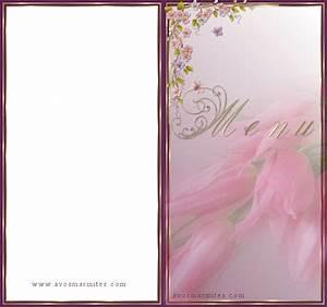 Modele De Menu A Imprimer Gratuit : trouver modele menu a imprimer gratuit ~ Melissatoandfro.com Idées de Décoration