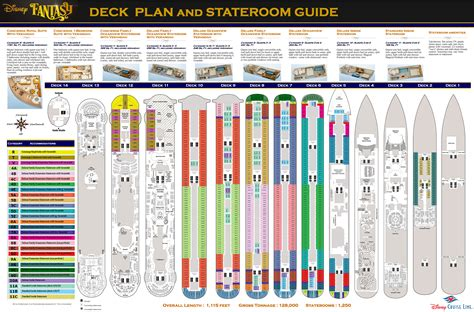 deck plan 4 disney deck plans and stateroom guide by