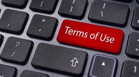 Terms Of Use Disclaimer Policy