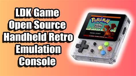 Open Source Handheld Console by Ldk Open Source Handheld Retro Emulation Console