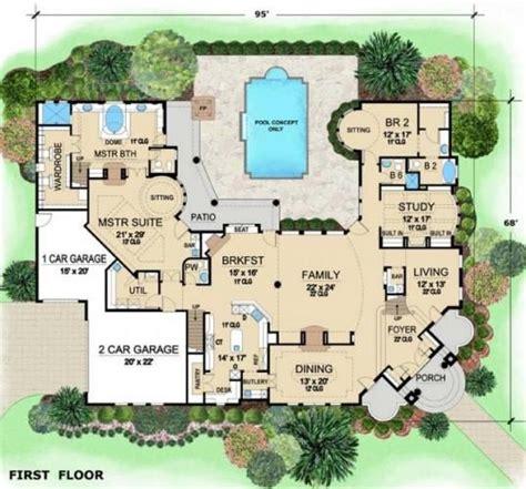 Mansion Layouts Luxurious Mediterranean Mansion House Plan Villa Visola Floor Ideas House