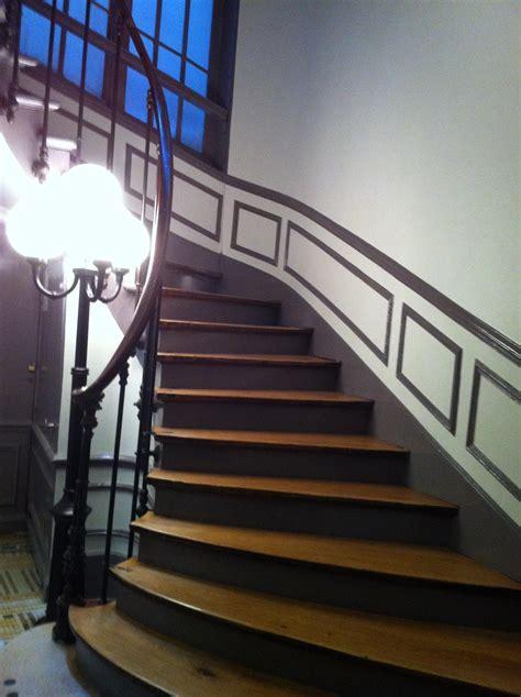renovation cage descalier  paris  cage escalier