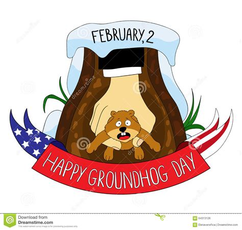 Groundhog Day Clipart Groundhog Clipart Happy Pencil And In Color Groundhog
