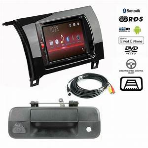 Pioneer Double Din Bluetooth Stereo Backup Camera Toyota Tundra Radio Dash Kit
