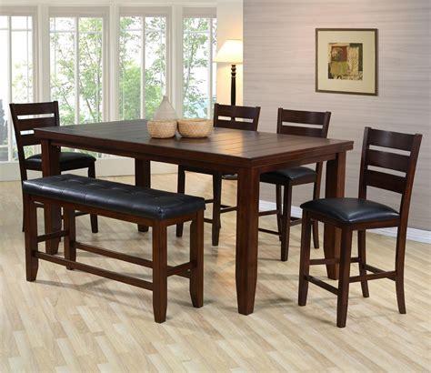 tisch mit stühlen kinder pub tisch mit st 252 hlen und bank mobelde