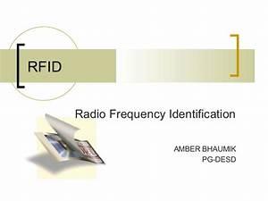 RFID (Radio Frequency Identification)