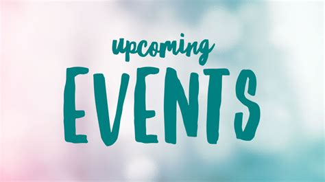 Upcoming Events - Vermontville Bible Church
