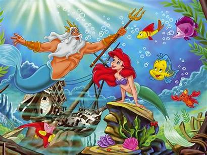 Mermaid Backgrounds Wallpapers Desktop Background Ariel Resolution