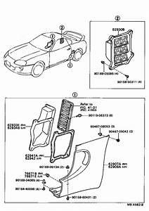 toyota supra parts diagram wiring diagram With 1994 toyota supra tt fuse box diagram