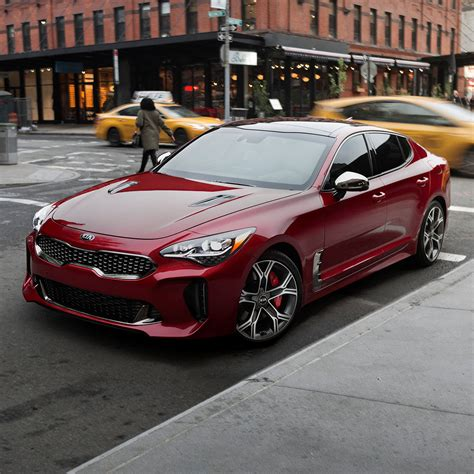 2018 Kia Stinger Gt Side Wide View Hd Wallpaper Latest