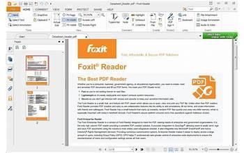 Foxit PDF Reader screenshot #1