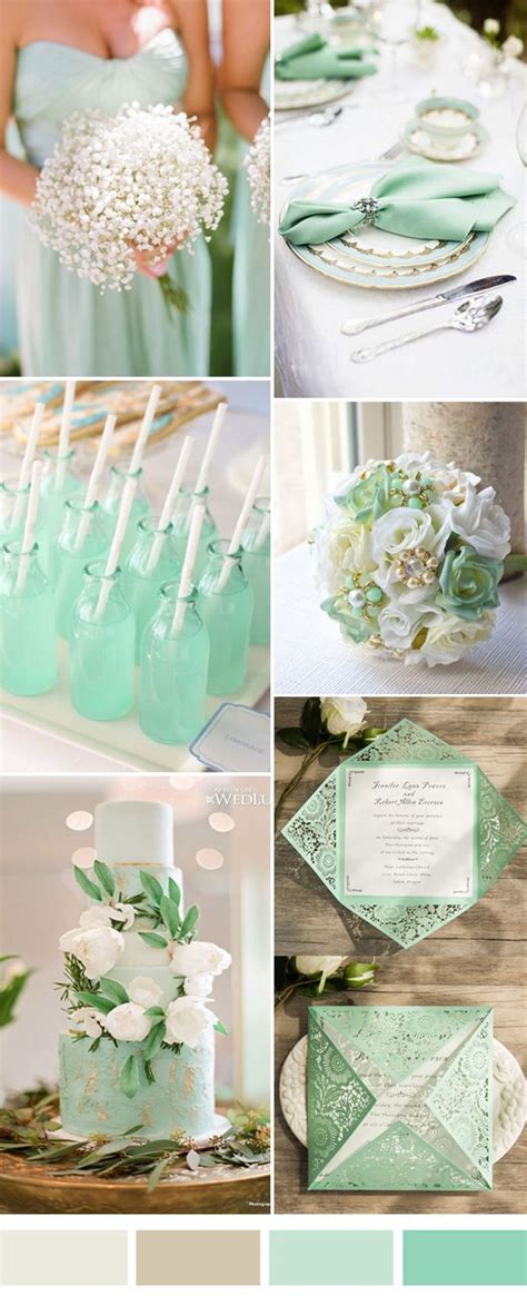 Mint Wedding Color Combination Ideas For 2017 Spring And