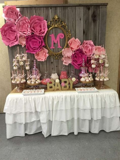 girl baby shower party ideas party ideas gold