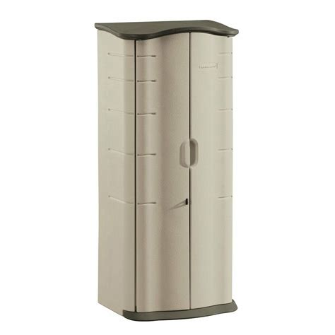 Rubbermaid Cupboard by Rubbermaid Plastic Outdoor Storage Shed 17cf Patio Pool