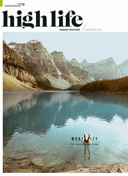 Travel Magazine December British Airways Covers Marklives