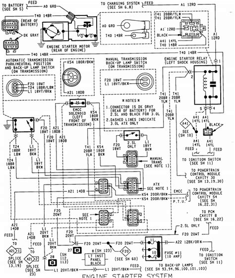 where can i get a wiring diagram for a 94 plymouth acclaim my ignition relay is burning