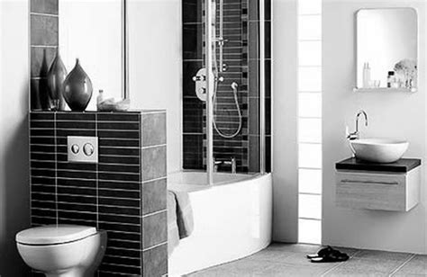 bathroom tile ideas black and white black and white bathroom tile design ideas peenmedia com