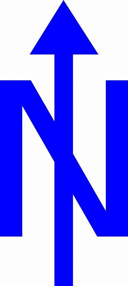 Arrow North Orienteering Clipart Clip Symbols Cliparts