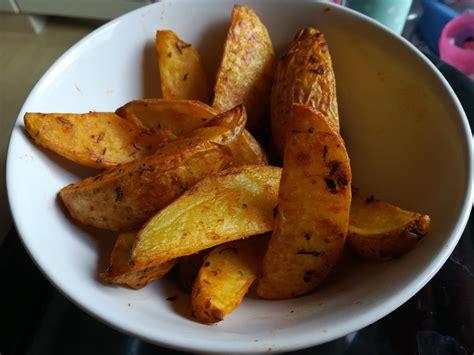 kartoffelspalten rezept mit bild