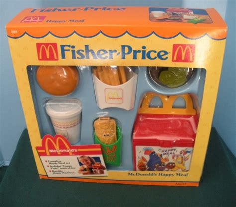 cuisine fisher price vintage fisher price with food 2155 mcdonald 39 s