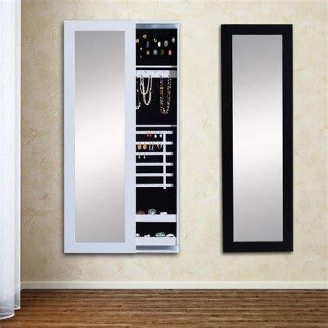 homcom schmuckschrank spiegelschrank schwarz dressing