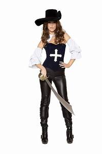 Adult Musketeer Mistress Women Pirate Costume | $94.99 ...