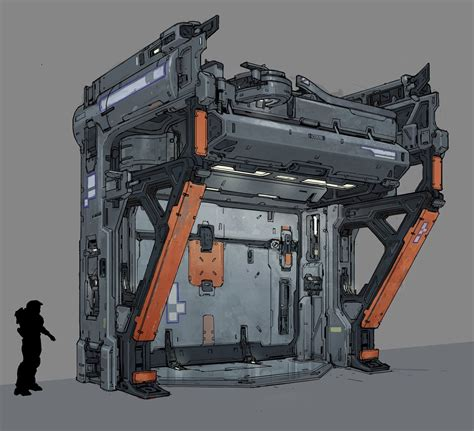 Halo 5 Guardians Concept Art By Kory Lynn Hubbell
