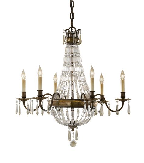 Old Fashioned Living Room Furniture by Paris 6 Arm Antique Bronze Crystal Chandelier