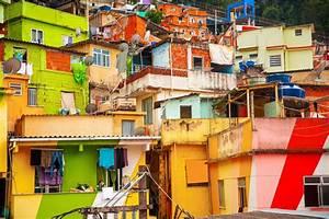 Stadtteil Von Rio De Janeiro : favela santa marta in botafogo rio de janeiro brasilien franks travelbox ~ Watch28wear.com Haus und Dekorationen