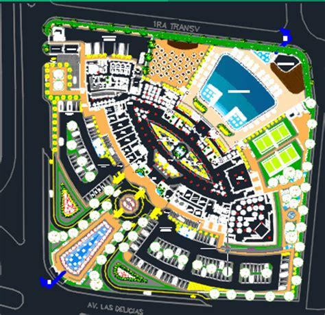 stars hotel floor plans  dwg design section