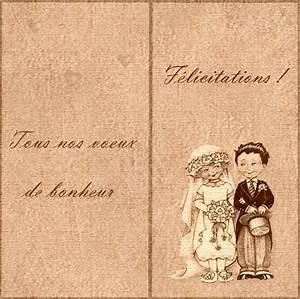 Carte De Voeux Gratuite A Imprimer Personnalisé : dessin felicitation mariage gratuite ~ Louise-bijoux.com Idées de Décoration