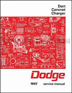 1967 Charger Wiring Diagram Manual Reprint
