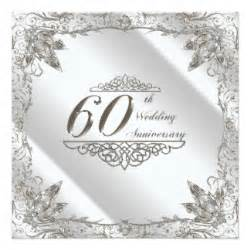 60 year wedding anniversary 60th wedding anniversary cards zazzle
