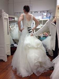 show me your or any tulle trains with bustles weddingbee With bustle tulle wedding dress