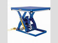 Vestil Hydraulic Lift Table — 3,000 lb Capacity