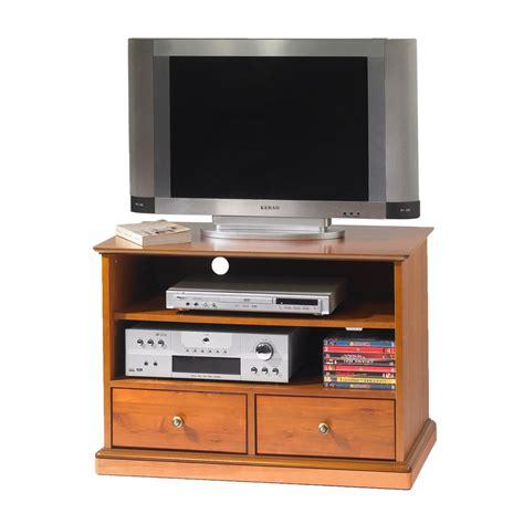 meuble tv hifi merisier louis philippe sur roulettes