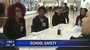Dallas ISD students discuss school safety concerns - YouTube