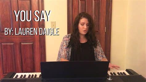 Lauren Daigle (cover) By Faith Rose