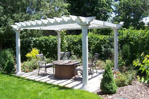 white pergola pictures pergola and patio cover arvada co photo gallery landscaping network