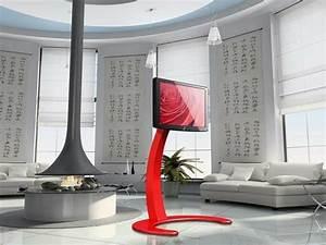 Pied Meuble Design : meuble tv design l 39 re du num rique connect ~ Teatrodelosmanantiales.com Idées de Décoration